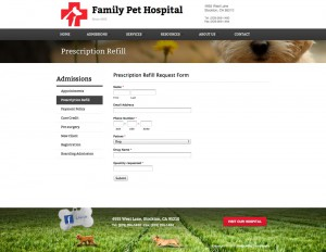 Family Pet Hospital | Prescription Refill