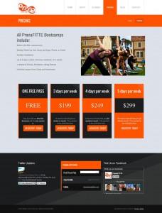 Pricing | PranaFITTE