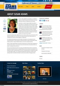 About Susan Adams | Susan Adams for Congress