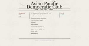 Asian Pacific Democratic Club - Events