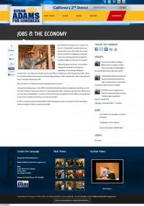 Jobs & The Economy | Susan Adams for Congress