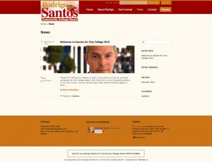 News | Rodrigo Santos for Community College Board | San Francisco Nov 6, 2012 Election